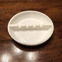 Small Simple Ash Tray 3D Printing 193397