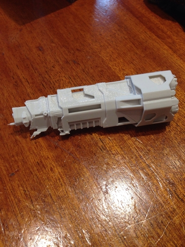 "Halo - Halcyon-class Cruiser ""Pillar of Autumn"" 3D Print 193402"