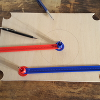 Small Pair of compasses 3D Printing 193407