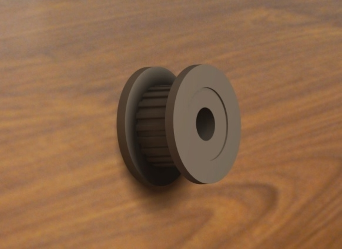 Timing Pulley 20T 3D Print 193434