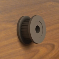 Small Timing Pulley 20T 3D Printing 193434