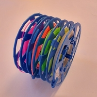 Small Modular Spool, low material and stable (from 5 to 20Meter) 3D Printing 193437