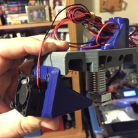 Small E-3D Mount - Creator Bot 3D by - 3D Printer Works 3D Printing 19347