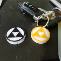 Small HID PROX Proximity token keychain cover (Multiple) (Legend of Ze 3D Printing 193486