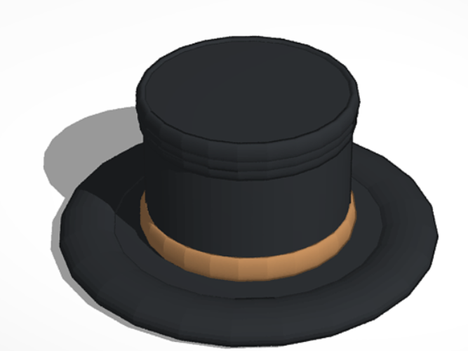 Freddy Fazbear's Top Hat 3D Print 193606