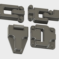 Small Door hinges for Traxxas TRX-4 body 3D Printing 193671
