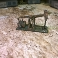 Small Battlefield - Oil Pump  3D Printing 193753