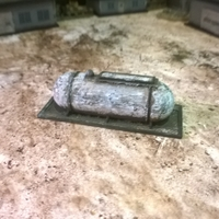 Small Battlefield - Liquid Container  3D Printing 193754