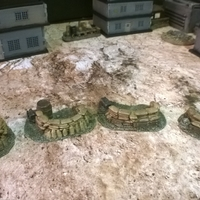 Small Battlefield - Sandbag Fortifications  3D Printing 193755