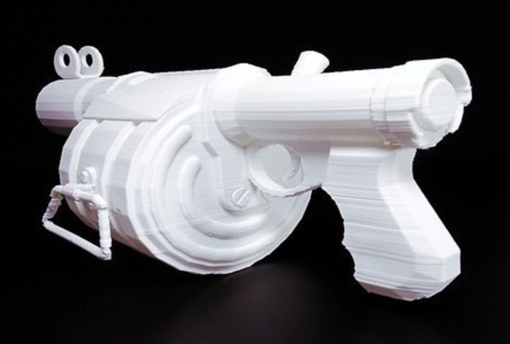 Team Fortress 2- stick bomb laucher -  Demoman 3D Print 193872