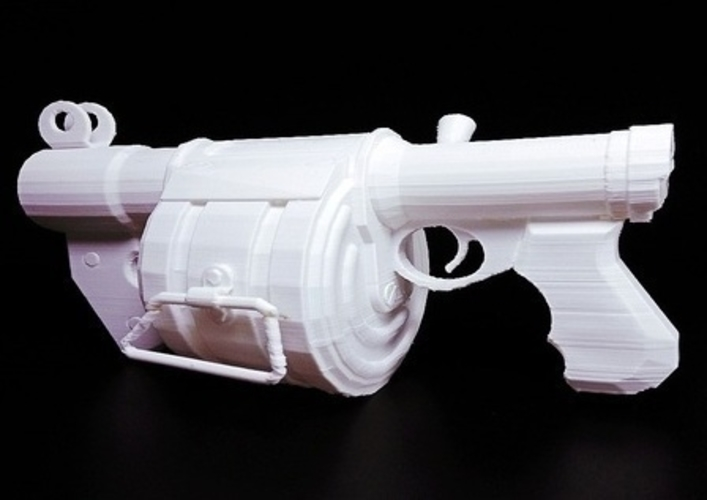 Team Fortress 2- stick bomb laucher -  Demoman 3D Print 193874