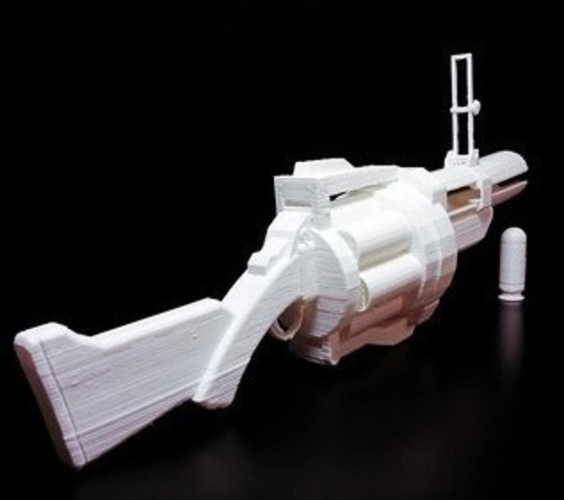Team Fortress 2 - Grenade Launcher - Demoman 3D Print 193885