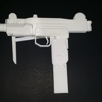 Small Modern Warfare  - Mini Uzi 3D Printing 193889