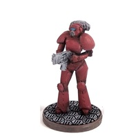 Small Female Space Trooper (supportless printing) 3D Printing 1939