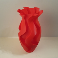 Small Classic Carved Vase 3D Printing 193966