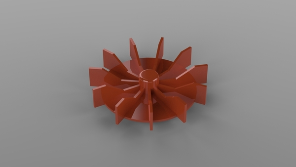 Medium Electricmotor fan 3D Printing 193983