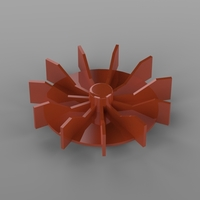 Small Electricmotor fan 3D Printing 193983