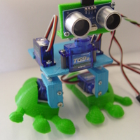Small Arduped Biped Robot 3D Printing 19405