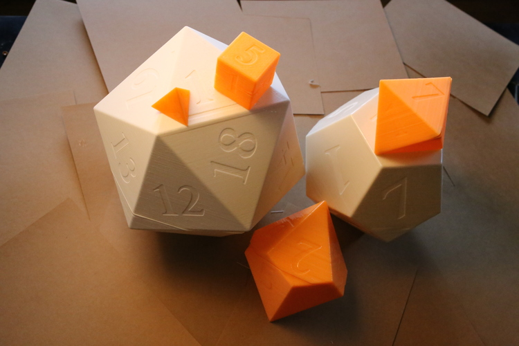 Dice of Destiny 3D Print 19416