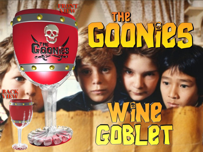 The Goonies Skeletal Hand Wine Goblet - 320ml 3D Print 194434