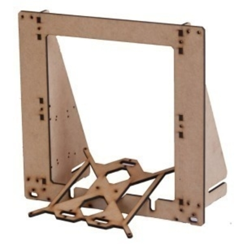 top display support base for prusa i3 mdf frame 3D Print 194481
