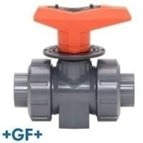 +GF+ ball valve handle replacement 3D Print 194516