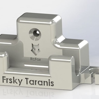 Small Frsky Taranis Wall Mount 3D Printing 194646