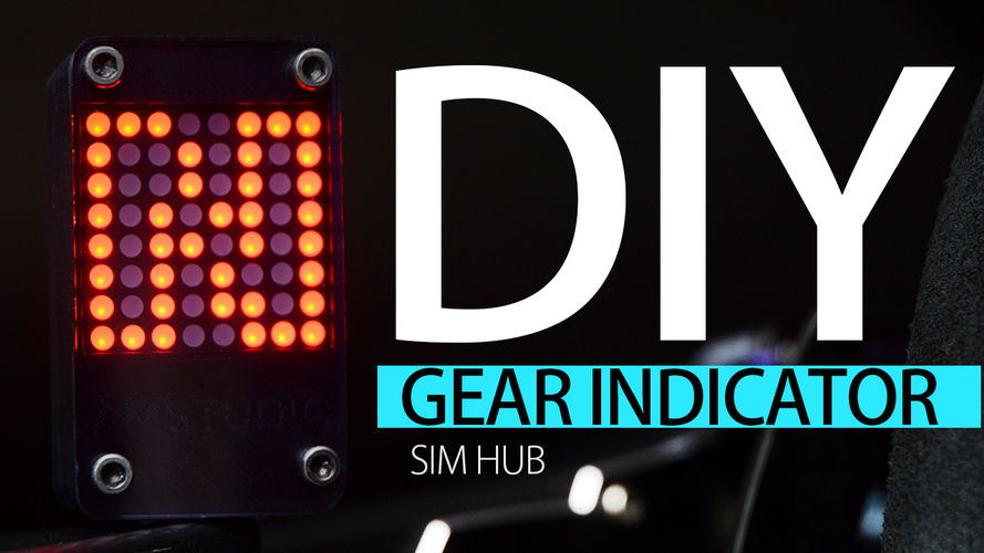 DIY GEAR INDICATOR  3D Print 194703