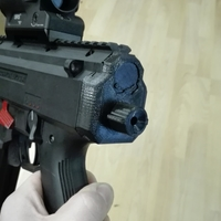 Small Scorpion evo stock adaptor 3D Printing 194767