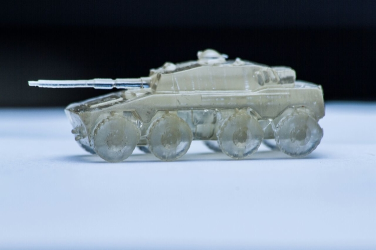 Rooikat Amourd Car( Wargame ) 3D Print 194942
