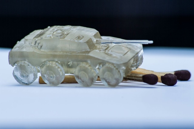 Rooikat Amourd Car( Wargame ) 3D Print 194943