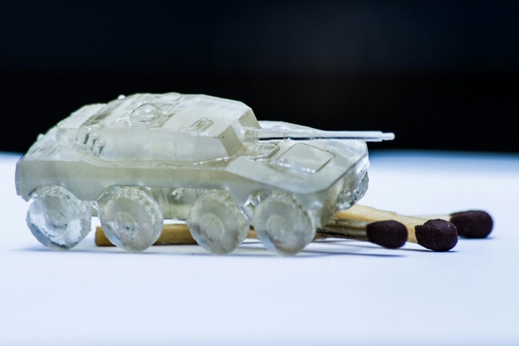 Rooikat Amourd Car( Wargame ) 3D Print 194946