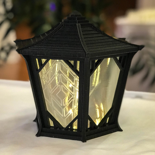 Japanese Centerpiece Lanterns for Wedding 3D Print 194989