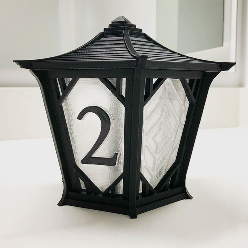 Japanese Centerpiece Lanterns for Wedding 3D Print 194991