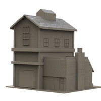 Small HO scale warehouse 3D Printing 195010