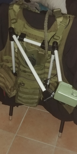 Hero cam holder for Molle-west 3D Print 195017
