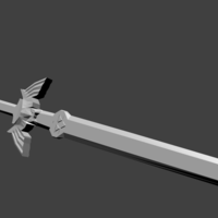 Small Master Sword 3D Printing 195019