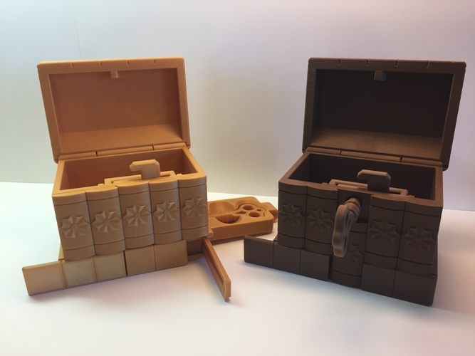 Korean Secret Box 3D Print 195034