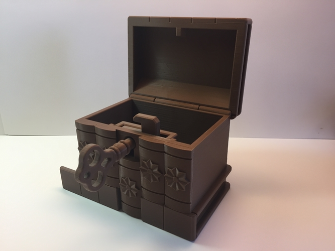 Korean Secret Box 3D Print 195035