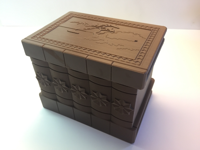 Korean Secret Box 3D Print 195036