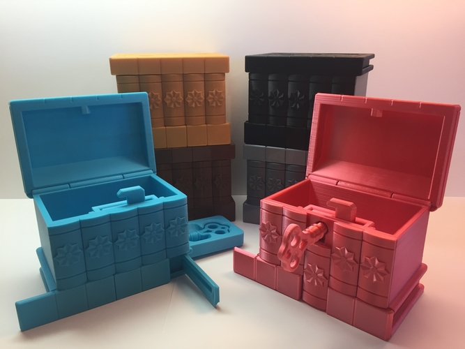 Korean Secret Box 3D Print 195038
