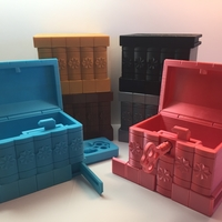 Small Korean Secret Box 3D Printing 195038