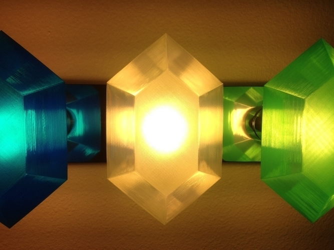 Customizable Rupee Lamp Shade 3D Print 195095