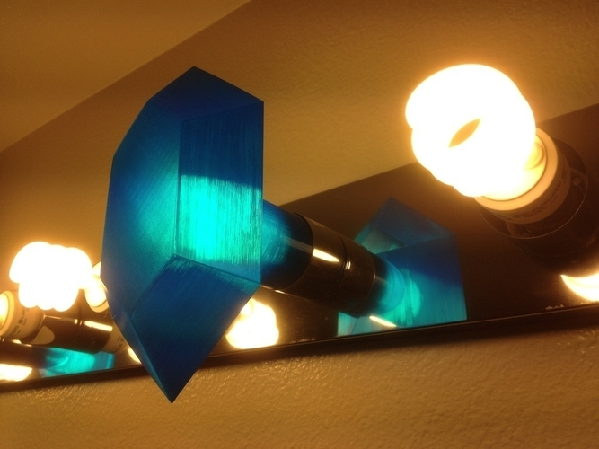 Customizable Rupee Lamp Shade 3D Print 195097