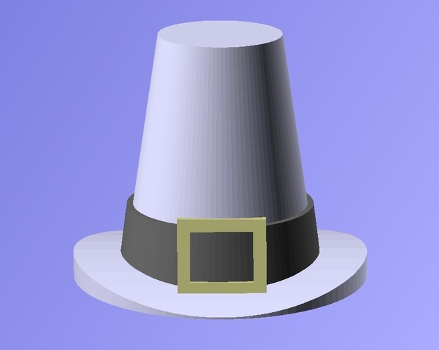 Thanksgiving Hat 3D Print 19521