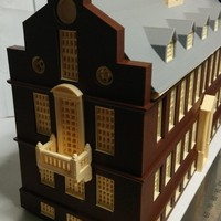 Small Old State House Boston 3D Printing 19529