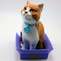 Small Schrodinky! Cat in a Box multi part multi extrusion 3D Printing 195305