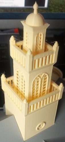Old State House Boston 3D Print 19531