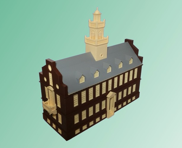 Old State House Boston 3D Print 19532