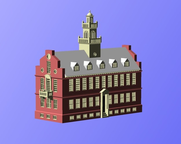 Old State House Boston 3D Print 19533